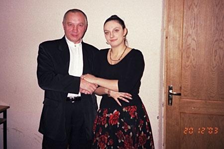 Елена Ваенга и Владимир Окунев