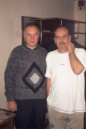 Владимир Окунев и Николай Тюханов