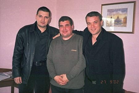 Александр Звинцов, Евгений Гиршев и Александр Дюмин