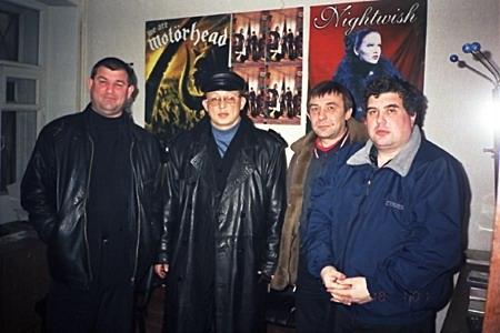 Юрий Кацап, Андрей Климнюк, Владимир Панарин и Евгений Гиршев