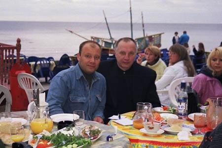 Владимир Трофимов-Рубцовский и Владимир Окунев