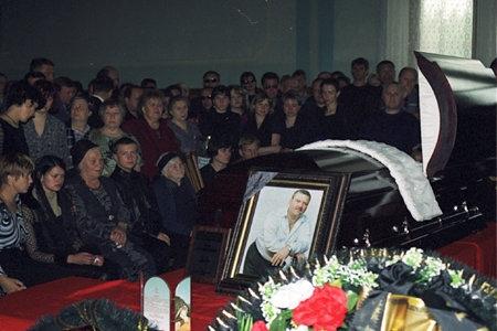 Похороны Михаила Круга