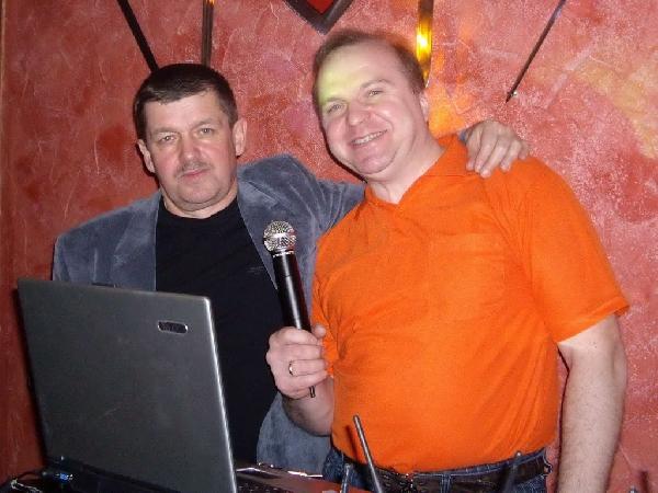 Вадим Григорьев и Евгений Любимцев