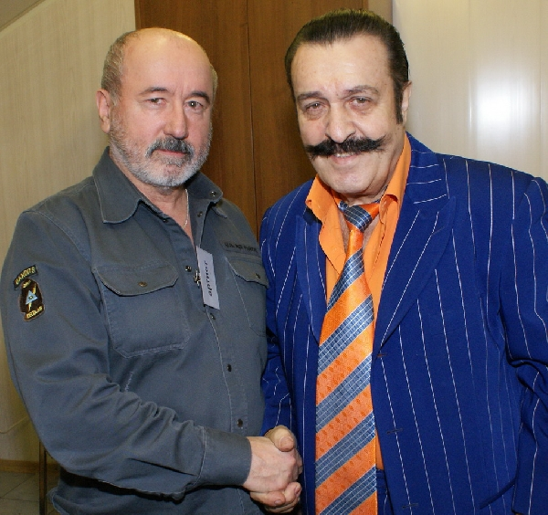 Вилли Токарев и Владимир Асмолов