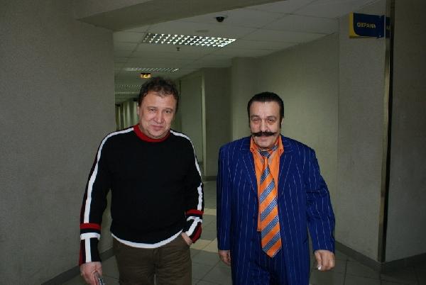Анатолий Полотно и Вилли Токарев