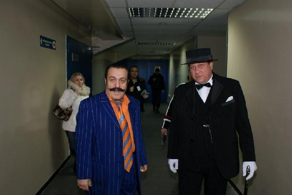 Вилли Токарев и Игорь Буржуй