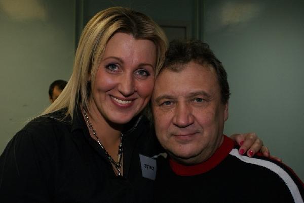 Светлана Питерская и Анатолий Полотно