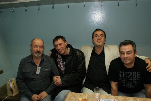 Владимир Асмолов, Евгений Алтайский, Николай Йоссер, Федя Карманов