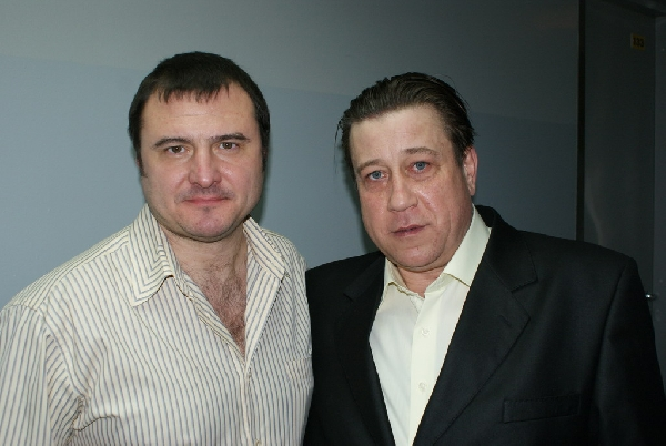 Руслан Казанцев и Игорь Буржуй