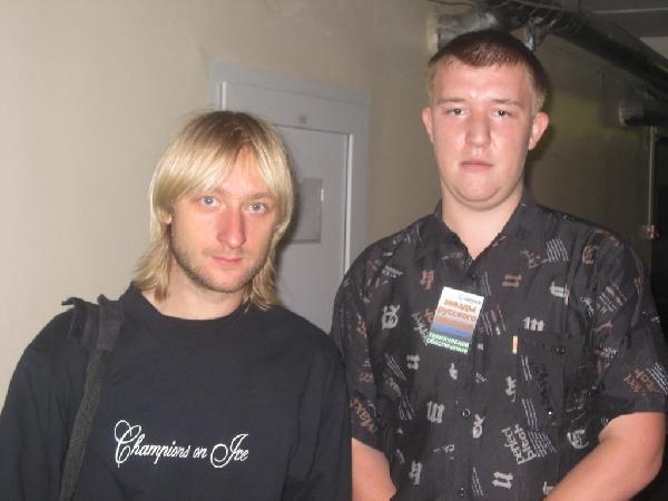 Евгений Плющенко и Сергей Панюшкин