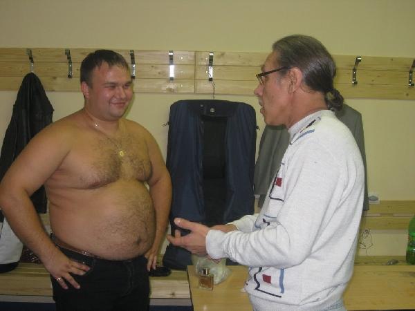 Николай Озеров и Андрей Егоров