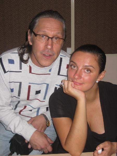 Андрей Егоров и Елена Ваенга