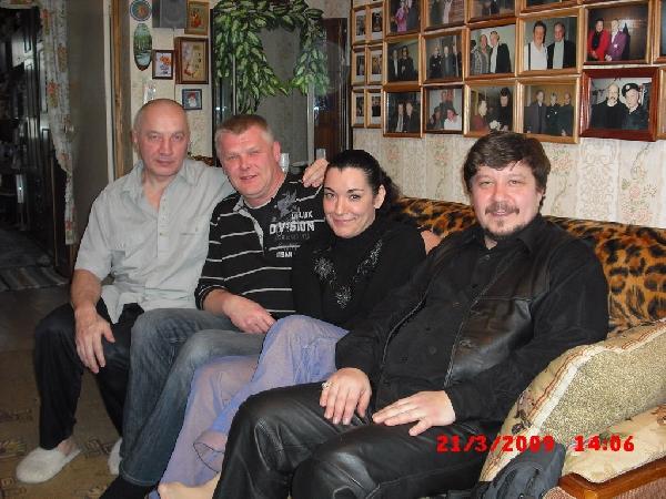 Владимир Окунев, Саша Адмирал, Лала Хопер и Владимир Стольный