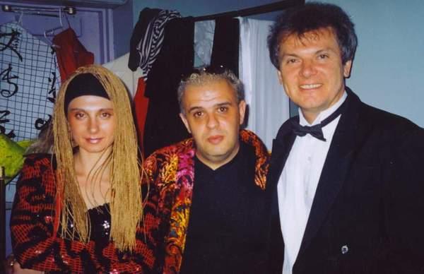 с артистами из России. Майами, 2004 год