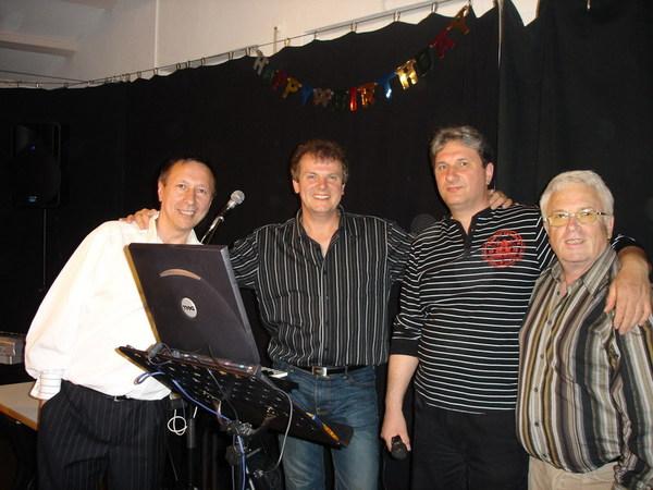 С друзьями. Германия, май, 2007 г.