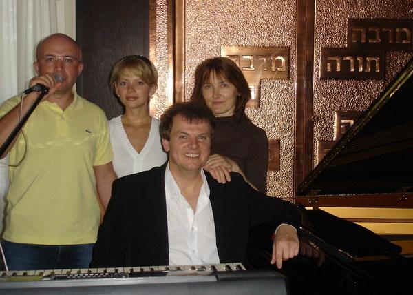 после концерта в синагоге. Ганновер, 2007 год
