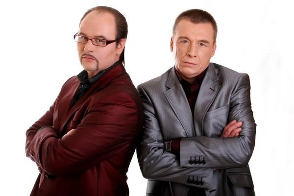 Игорь Дегтярёв и Вячеслав Стрелковский