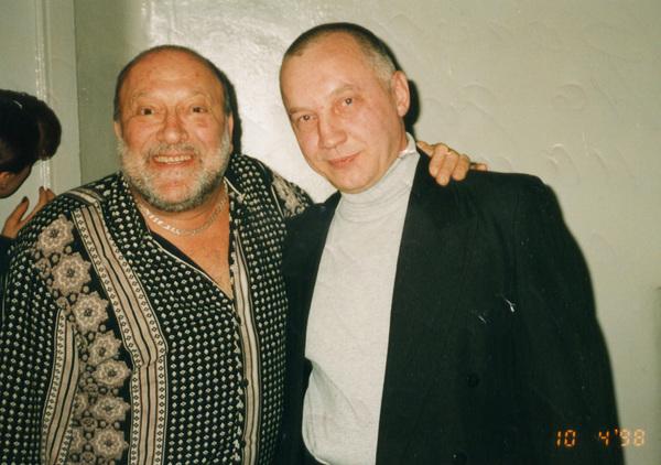 Михаил Гулько и Владимир Окунев. Санкт-Петербург, ДК им. Горького. 10.04. 1998 г.