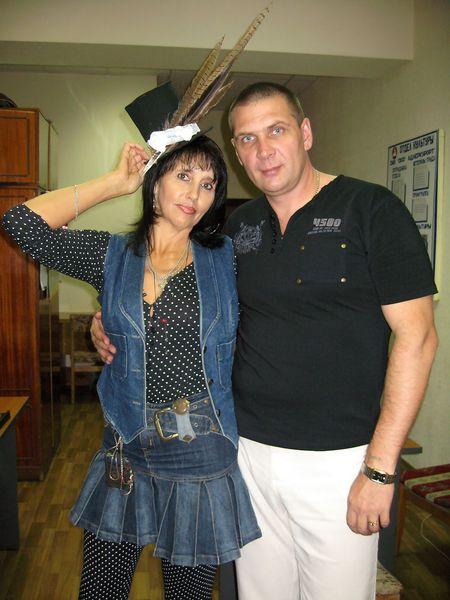 с поэтэссой Т. Корсун, Сочи- 2008 г.