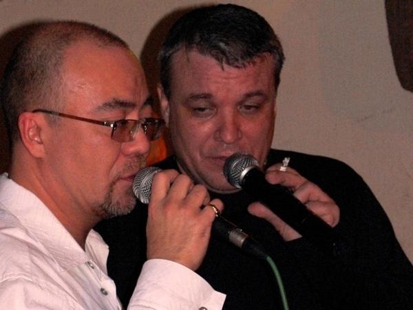 Александр Черкасов и Александр Дюмин