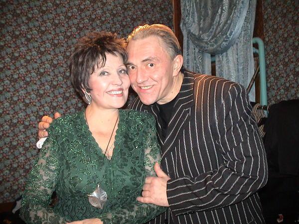 Галина Ненашева и Владимир Утёсов
