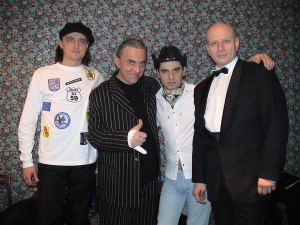 """с группой """"Ненси"""" и Котовским"""