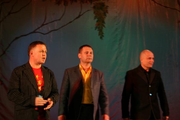 Антон Токарев, Алексей Стёпин и Александр Кузнецов