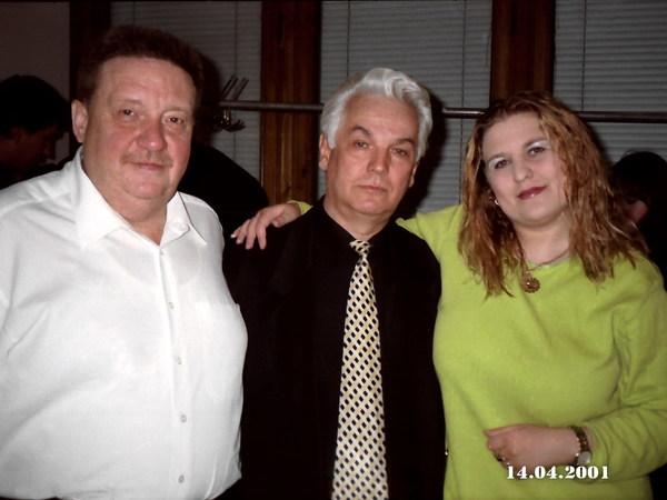 Н. С. Резанов, Э. Г. Кузнецов и Катя Огонёк