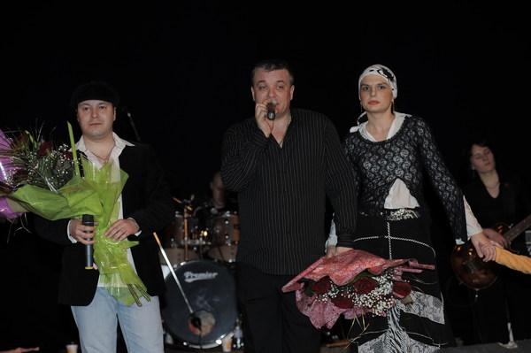 В. Петлюра, А. Дюмин и Анна Ниткина