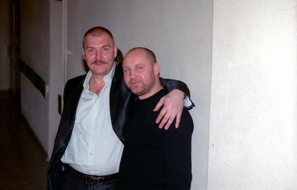 Дмитрий Быковский и Виталий Аксёнов