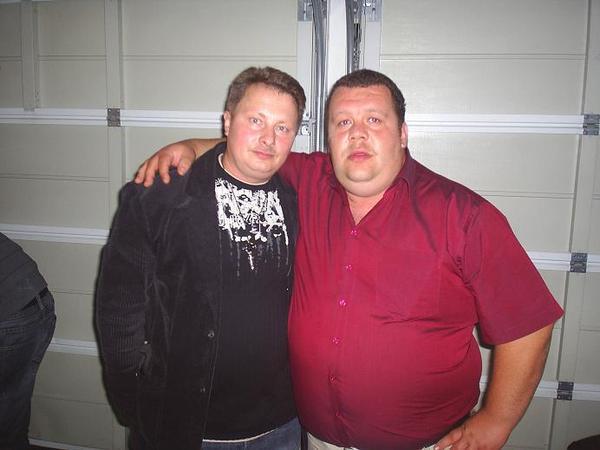 Олег Биркле и Батон