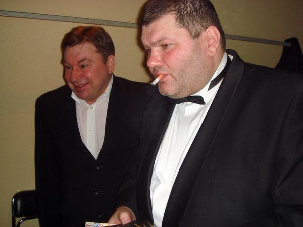 Михаил Шелег и Александр Фрумин