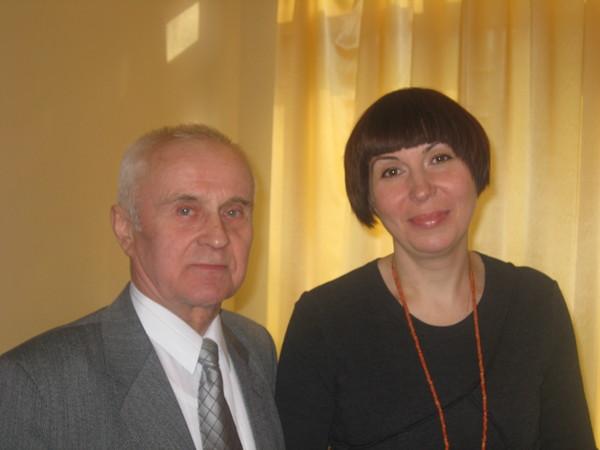 Сергей Петрович Соколов и Наталья Звездина