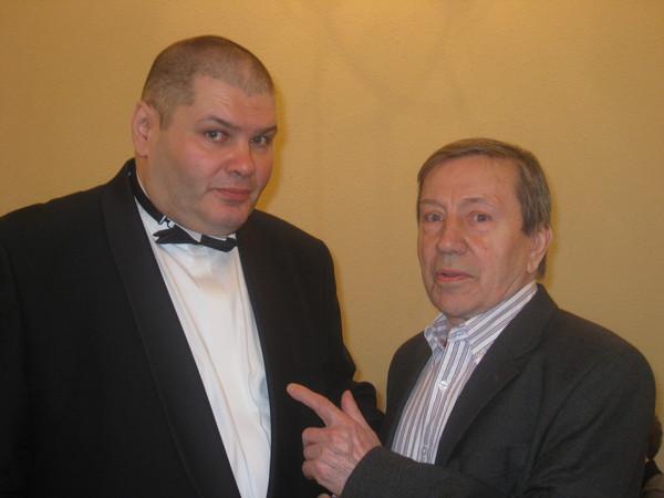 Александр Фрумин и Сергей Иванович Маклаков