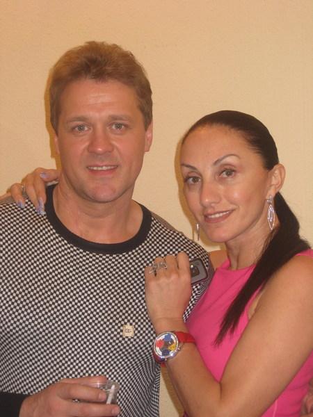 Сергей Любавин и Афина