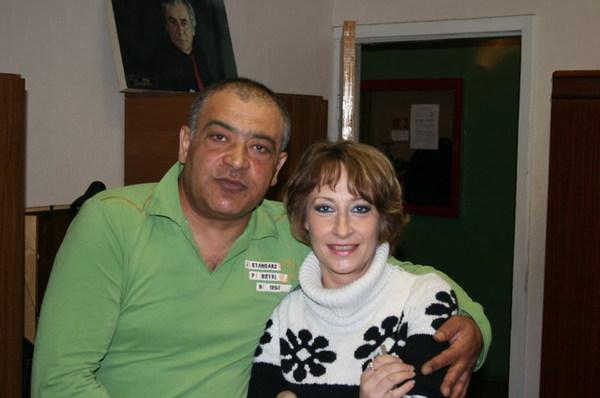 С. Арутюнян и Ольга Каневская