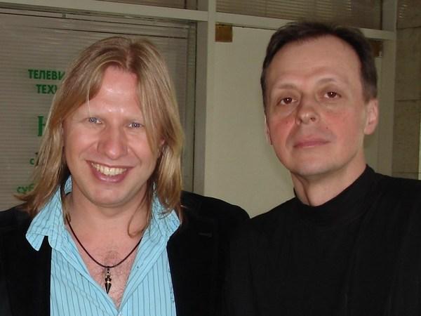 Виктор Дробыш и Игорь Латышко