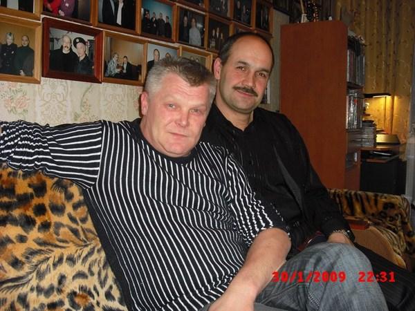 Саша Адмирал и Ростислав Поспелов