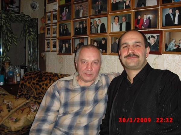 Владимир Окунев и Ростислав Поспелов