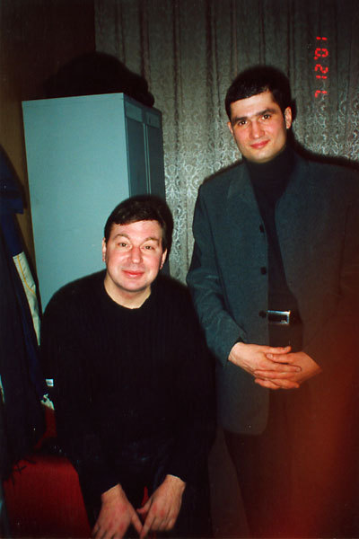 Михаил Шелег и Павел Ростов