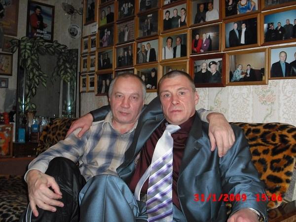 с Владимиром Окуневым в Музее шансона