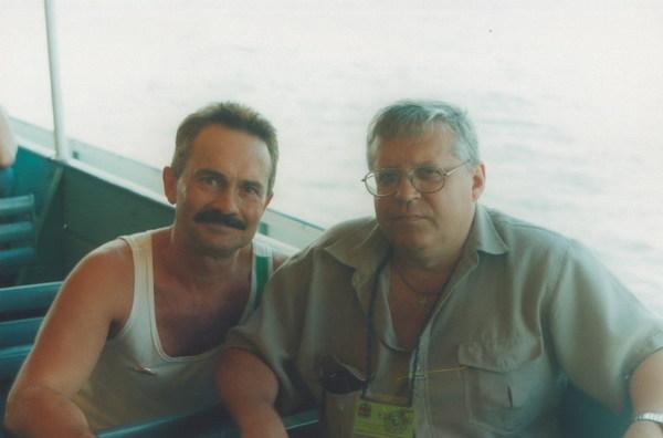 Геннадий Жаров и Валерий фон Эргардт
