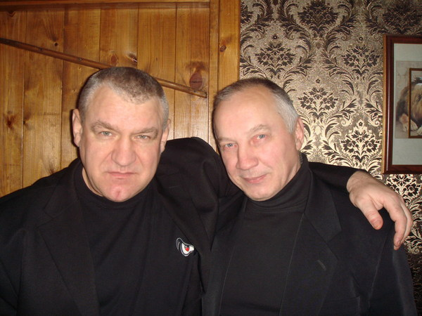 Владимир Козырев и Владимир Окунев