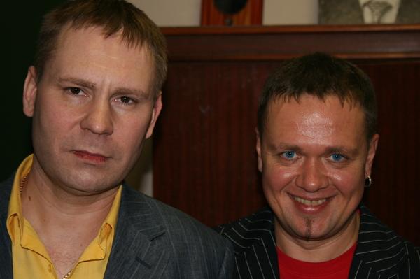 Алексей Стёпин и Антон Токарев