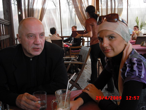 В. Окунев и Анна Ниткина (просто замечательный человек)