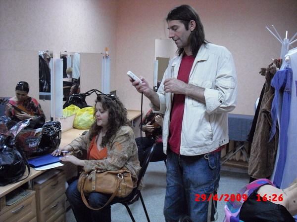 члены жюри: Вера Снежная и Валерий Ремесник
