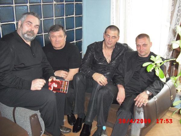 А. Соловьёв, С. Чернышов, О.Андрианов, В. Рябов