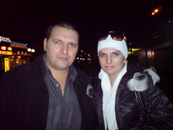 Александр Звинцов и Анна Ниткина