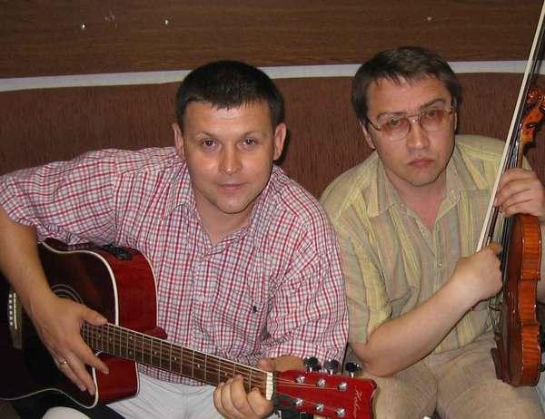 Юрий Белоусов и Игорь Надолинский