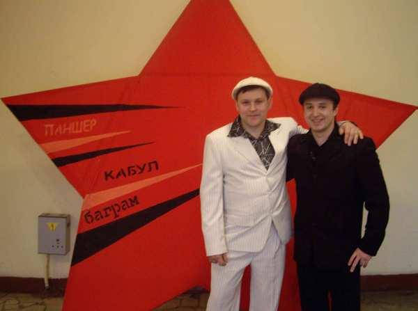 Юрий Белоусов и Роман Коробко